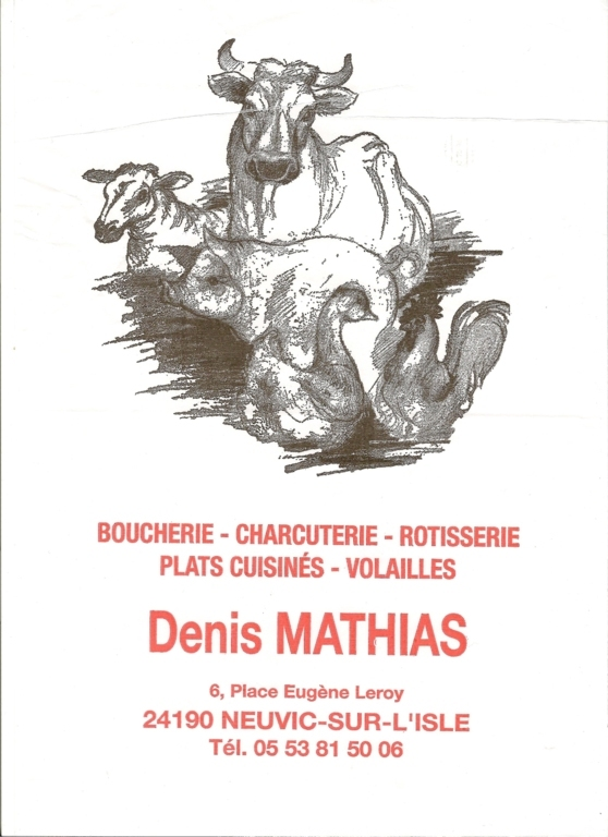 BOUCHERIE-CHARCUTERIE Denis Mathias